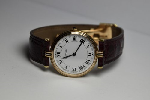 Immagine di CARTIER VANDOME TRICOLOR GOLD 18KT QUARTZ