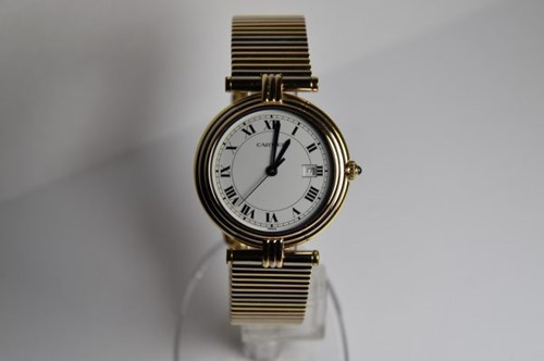 Immagine di CARTIER VANDOME TRICOLOR GOLD 18K QUARTZ